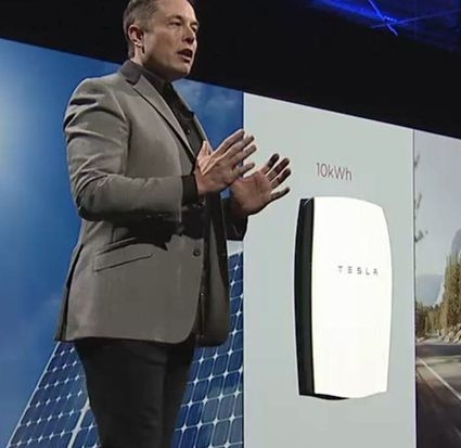 Elon Musk Tesla PowerWall