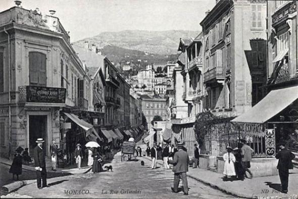 Monaco anno Rue Grimaldi