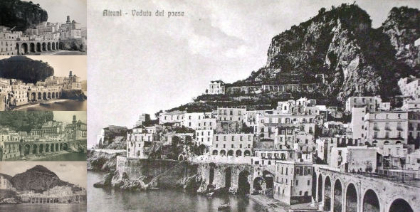 Atrani in the past